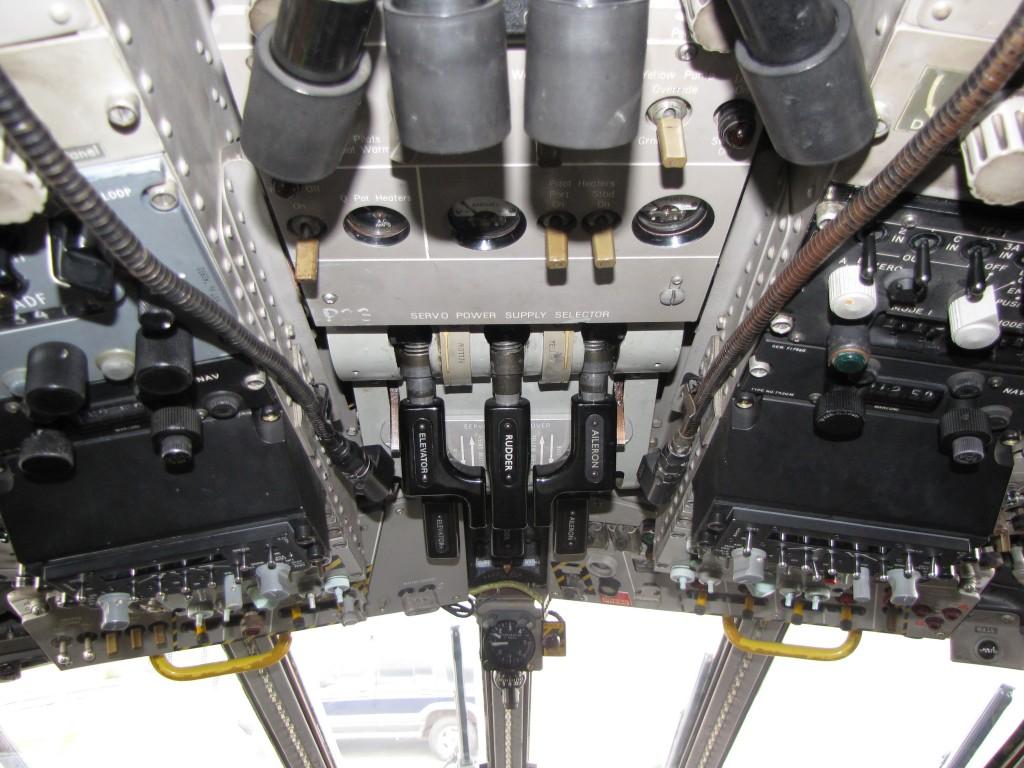 VHF- UHF control panels.